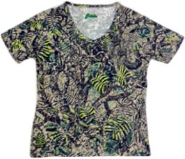 Women's/Chica's Brush Country Camo Short Sleeve Tee