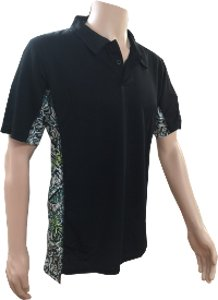 Brush Country Men's Short Sleeve Infinity Pullover Black