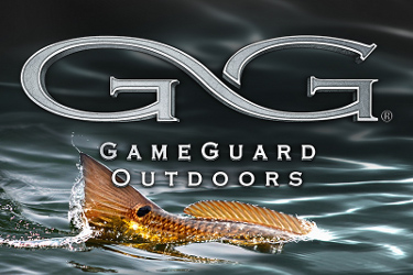 Game Guard Running GG Logo with Fish