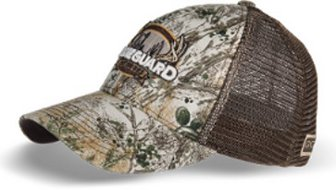 GameGuard Camo/Chocolate Mesh Back Cap with GameGuard Logo 5026LGGC