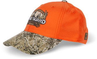 Blaze Orange Cap GameGuard Bill and Patch