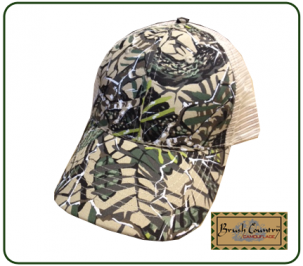 Brushcountry camo mesh back cap