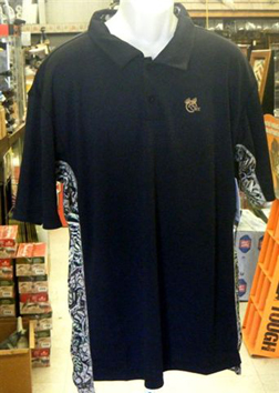 Brush Country Black Polo